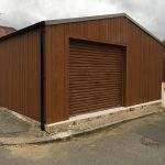 garage storage steel building portal frame